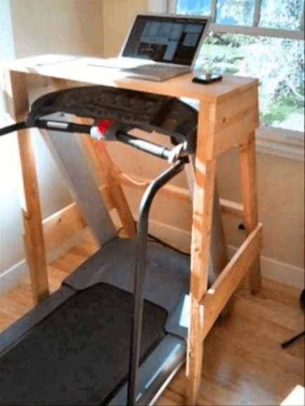redneck treadmill desk - perfect for your SQL needs